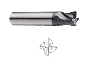 1//2 5-FL SE High Performance Carbide End Mill for Stainless Steel R225-0500I Nickel Based Alloys Titanium and Inconel